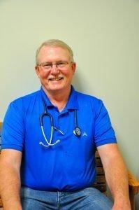 Team member Dr. Jones